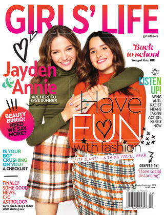 Girls' Life Magazine Aug/Sep 2020