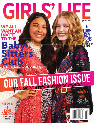 Girls' Life Magazine Oct/Nov 2020