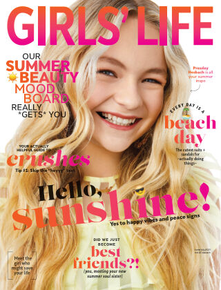 Girls' Life Magazine June/July 2021