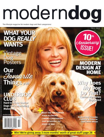 Modern Dog September 01, 2012 00:00
