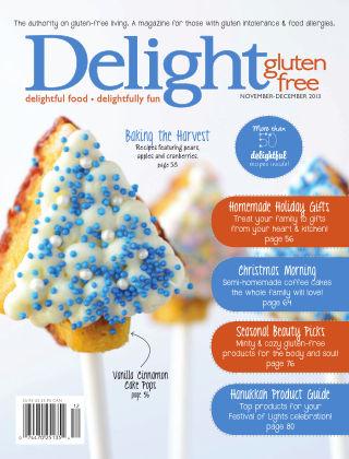 Delight Gluten-Free Magazine Nov / Dec 2013