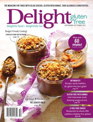 Delight Gluten-Free Magazine Sept / Oct 2013