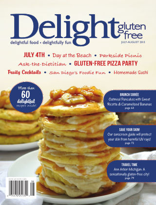 Delight Gluten-Free Magazine July / Aug 2013