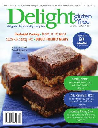 Delight Gluten-Free Magazine Jan / Feb 2014
