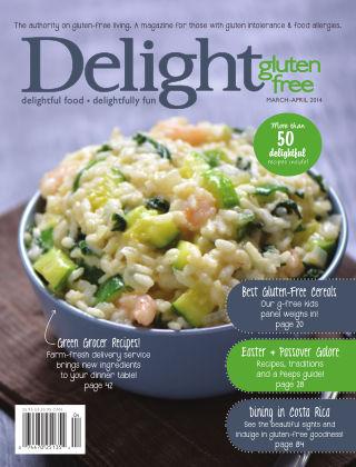 Delight Gluten-Free Magazine March / April 2014
