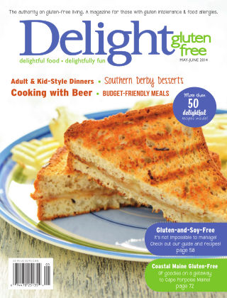 Delight Gluten-Free Magazine May / June 2014