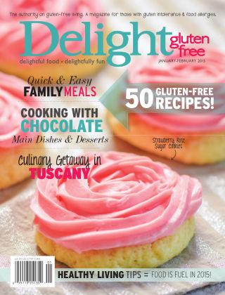 Delight Gluten-Free Magazine Jan/Feb 2015