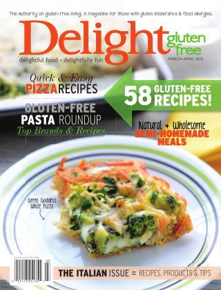 Delight Gluten-Free Magazine March / April 2015