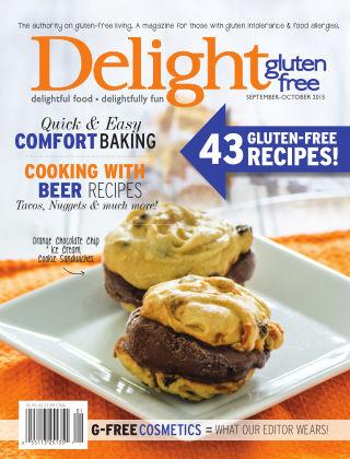 Delight Gluten-Free Magazine Sept.-Oct. 2015