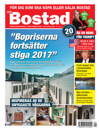 RUM BOSTAD (Inga nya utgåvor) 2016-11-10