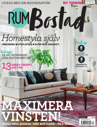 RUM BOSTAD (Inga nya utgåvor) 2017-06-08