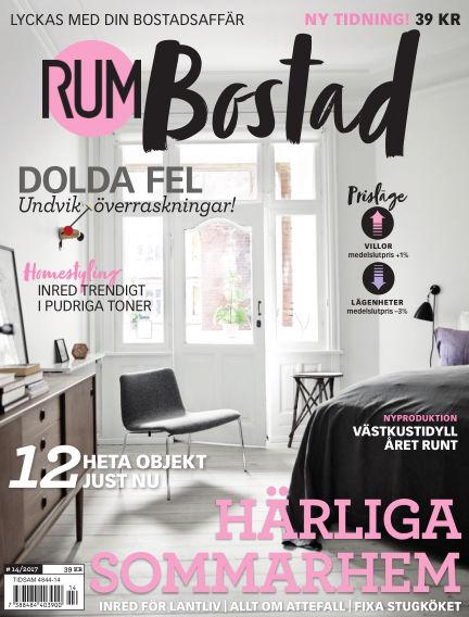 RUM BOSTAD (Inga nya utgåvor) June 22, 2017 00:00