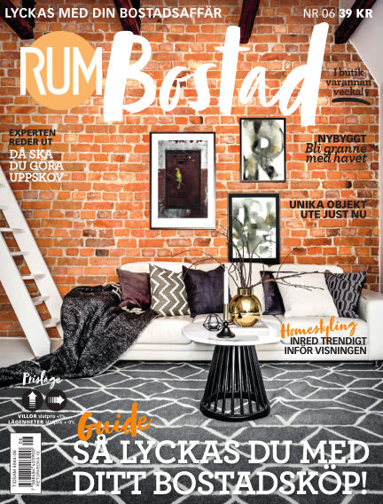 RUM BOSTAD (Inga nya utgåvor) March 27, 2018 00:00