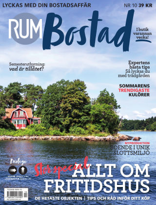 RUM BOSTAD (Inga nya utgåvor) 2018-05-22