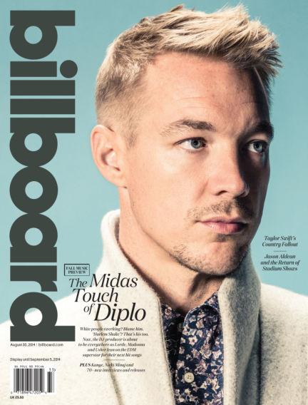 Billboard August 23, 2014 00:00