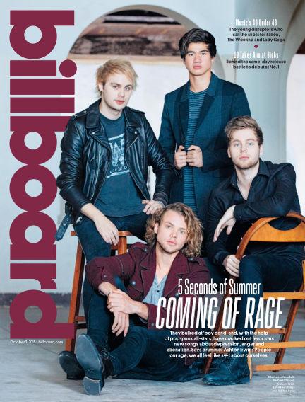 Billboard September 26, 2015 00:00