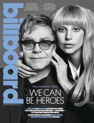 Billboard October 24, 2015