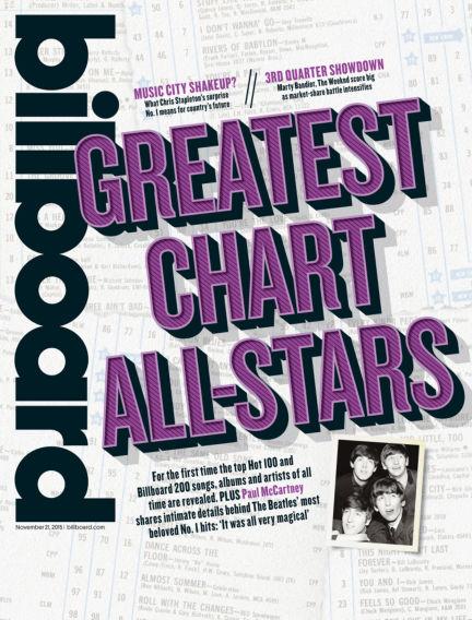 Billboard November 13, 2015 00:00