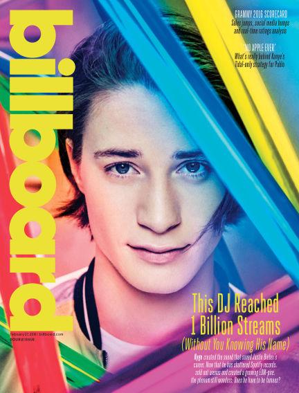 Billboard February 20, 2016 00:00