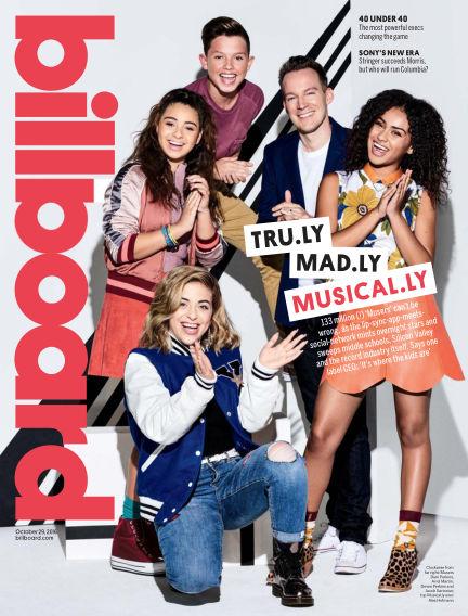 Billboard October 21, 2016 00:00