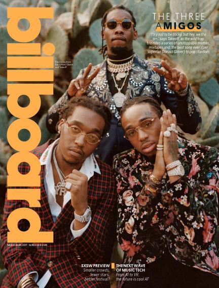 Billboard March 10, 2017 00:00
