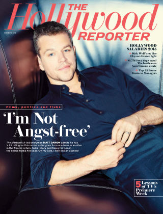 The Hollywood Reporter October 9, 2015