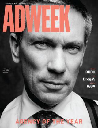 Adweek December 15, 2014