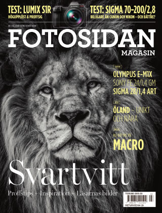 Fotosidan Magasin 2019-05-21