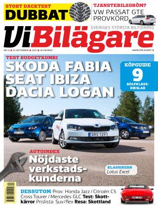 Vi Bilägare 2015-09-22