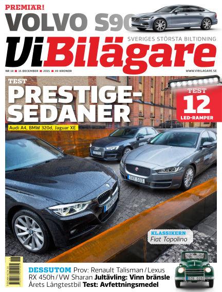 Vi Bilägare December 15, 2015 00:00