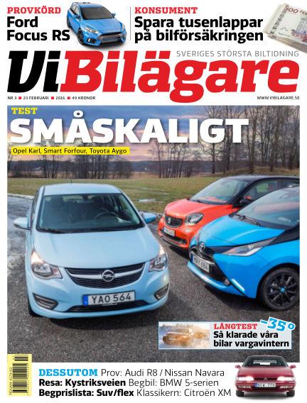 Vi Bilägare February 23, 2016 00:00