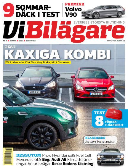 Vi Bilägare March 08, 2016 00:00