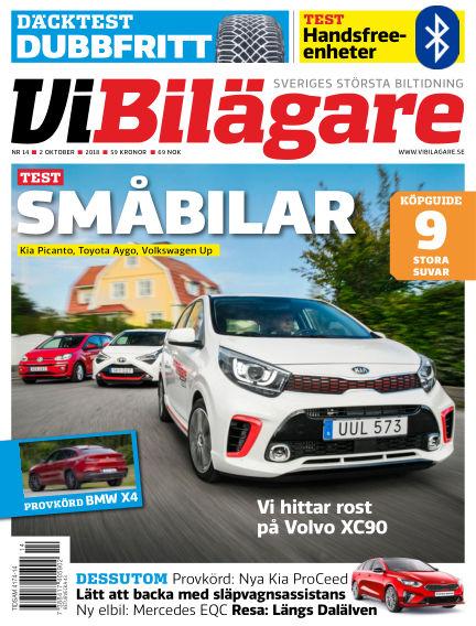 Vi Bilägare October 02, 2018 00:00