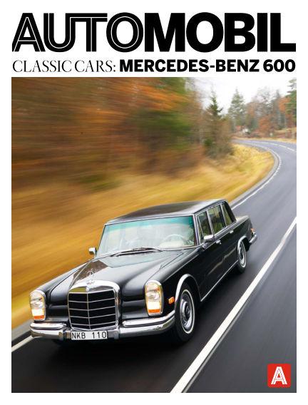 Automobil Classic Cars (Inga nya utgåvor) August 07, 2015 00:00