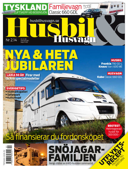 Husbil & Husvagn January 28, 2014 00:00