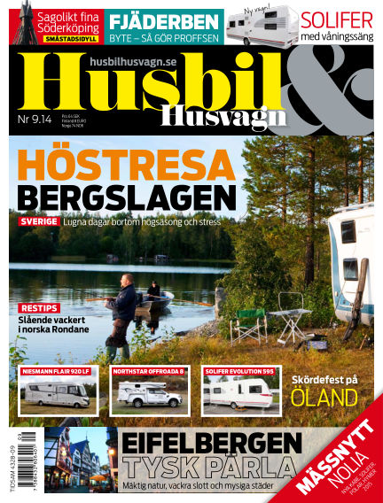 Husbil & Husvagn September 06, 2014 00:00
