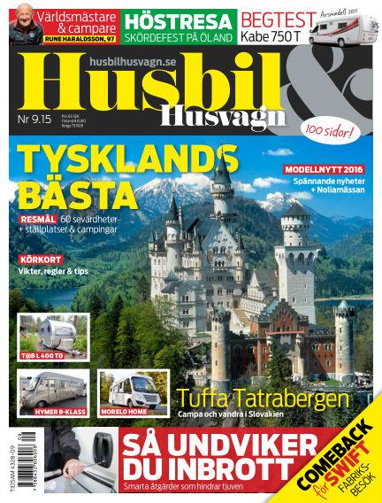 Husbil & Husvagn September 08, 2015 00:00