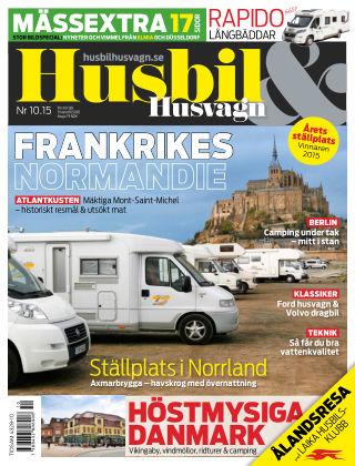 Husbil & Husvagn 2015-10-13