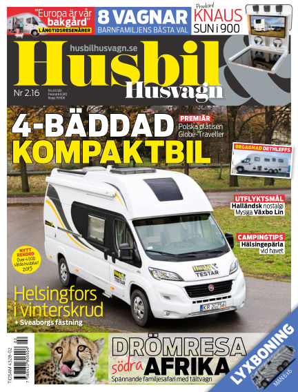 Husbil & Husvagn January 26, 2016 00:00