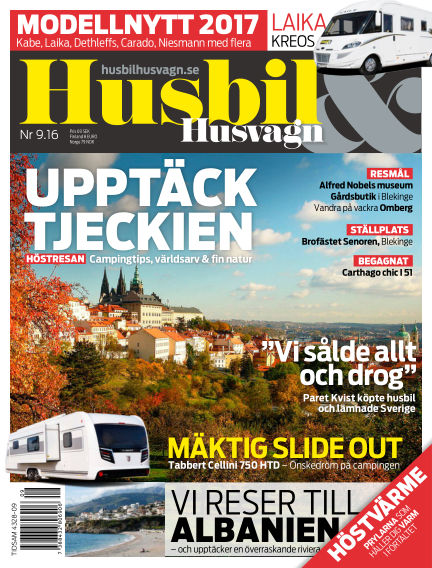 Husbil & Husvagn September 06, 2016 00:00