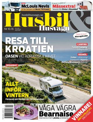 Husbil & Husvagn 2016-10-11