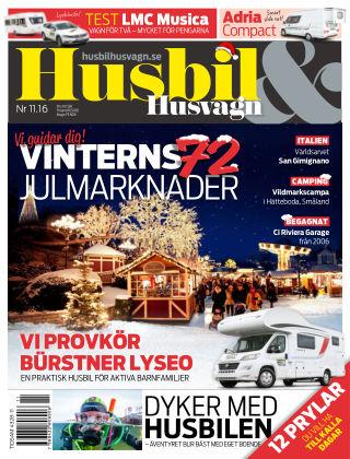 Husbil & Husvagn 2016-11-08