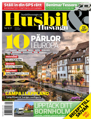 Husbil & Husvagn 2017-09-05