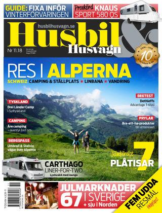 Husbil & Husvagn 2018-11-06