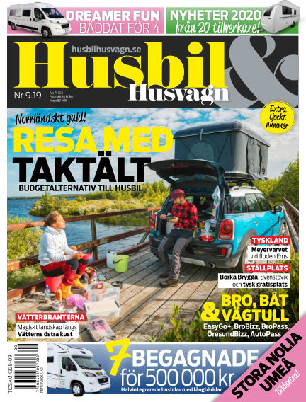 Husbil & Husvagn September 03, 2019 00:00
