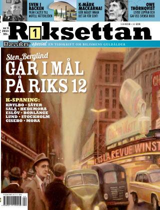 Riksettan (Inga nya utgåvor) 2013-12-10