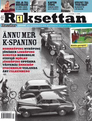 Riksettan (Inga nya utgåvor) 2013-10-08