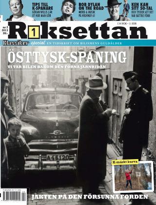Riksettan (Inga nya utgåvor) 2013-06-11