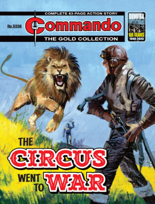 Commando Issue 5336
