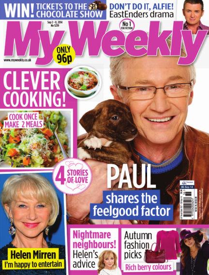 My Weekly September 02, 2014 00:00